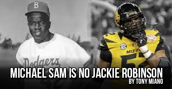 Michael Sam and Jackie Robinson