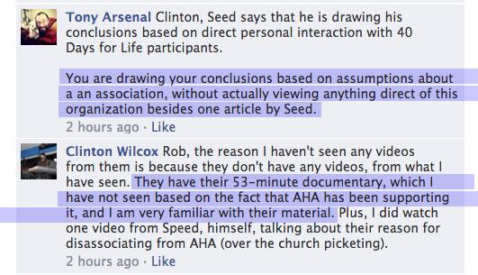 Brian Wilcox Conversation 1